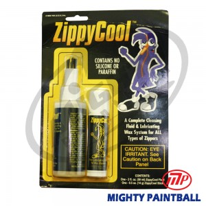 Zipper lubricant and cleaning kit