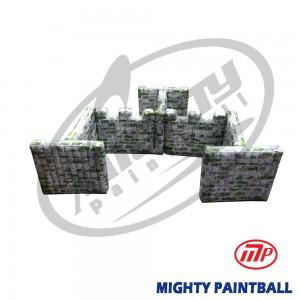 scenario bunker - Walls - Gate Shape